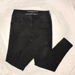 AE Super Soft X4 Mid-Rise Jeggings